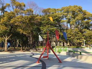 屋外アート(名古屋市美術館)の写真・画像素材[1007775]