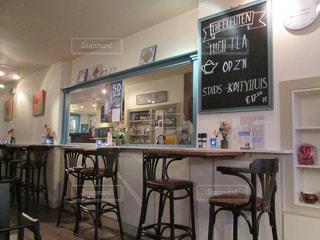 オランダ、デルフトのカフェ(カウンター)の写真・画像素材[1009687]