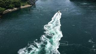 海を走る漁船の写真・画像素材[743843]