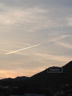 飛行機雲 - No.761244
