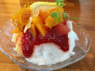 豪華なかき氷!の写真・画像素材[744416]