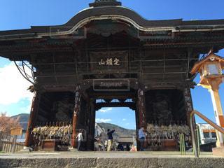 善光寺の写真・画像素材[745158]