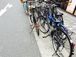 自転車がいっぱいの写真・画像素材[746345]