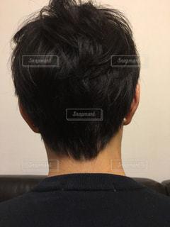 ショートヘアの写真・画像素材[746512]