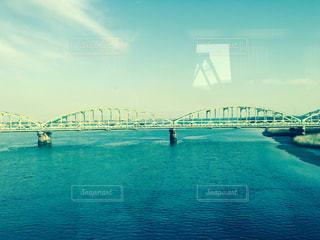 川を渡るの写真・画像素材[747748]
