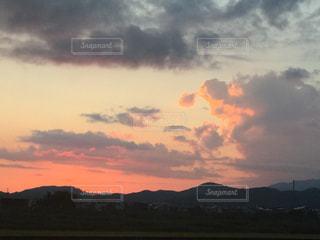 空の雲の写真・画像素材[744579]