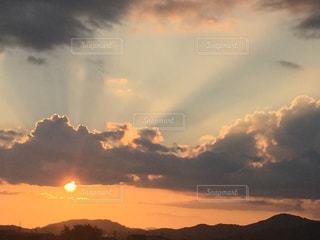 空の雲の写真・画像素材[744582]