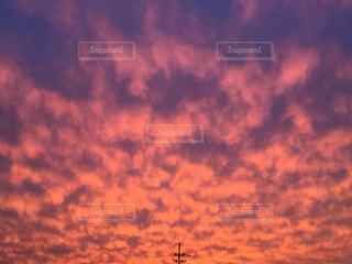 空の雲の写真・画像素材[744604]