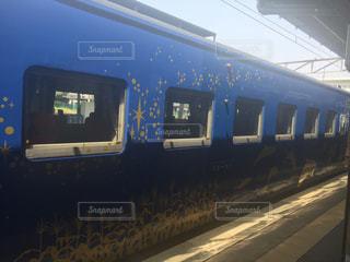 鋼のトラックの列車の写真・画像素材[755122]