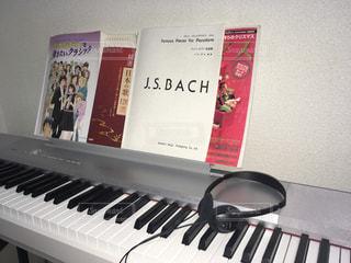 ピアノの鍵盤の写真・画像素材[763434]