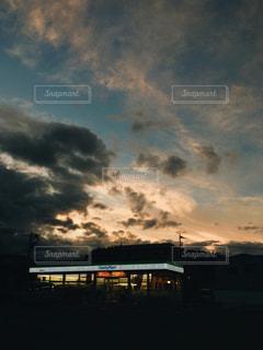 空の雲の写真・画像素材[2210306]