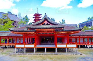 厳島神社の写真・画像素材[756073]