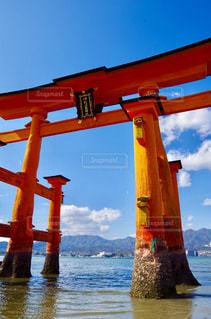 厳島神社の写真・画像素材[756078]