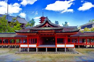 厳島神社の写真・画像素材[756103]