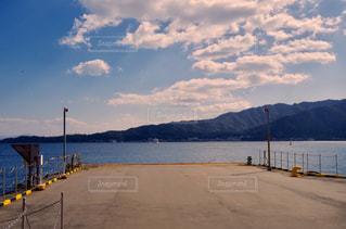 宮島に向かう船の写真・画像素材[756639]