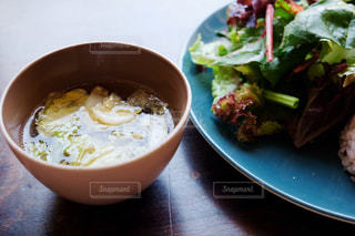 スープつきランチの写真・画像素材[2209960]