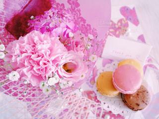 花のクローズアップの写真・画像素材[2340633]