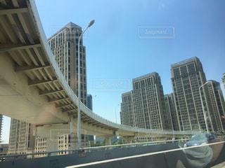 都市の高層ビルとハイウェイの写真・画像素材[745726]