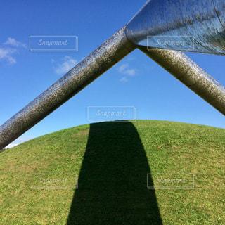 モエレ沼公園の巨大オブジェの写真・画像素材[747088]