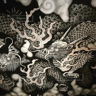 建仁寺の双竜図の写真・画像素材[747240]