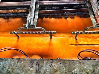ある工場のメッキ釜の写真・画像素材[747332]