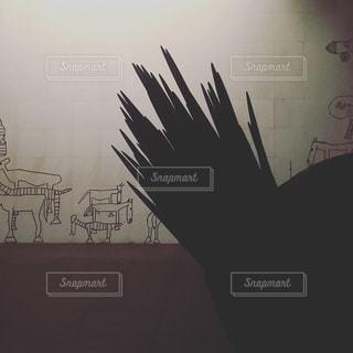 深夜の猪熊弦一郎美術館の写真・画像素材[747335]
