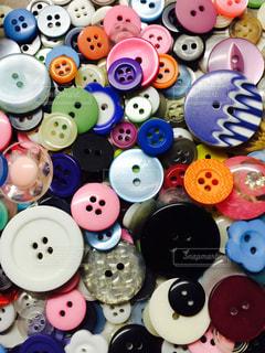 沢山のボタンの写真・画像素材[746989]