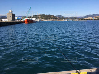 釣りと船と青空との写真・画像素材[965194]