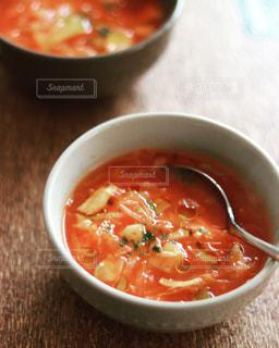 スープのボウルの写真・画像素材[3140689]