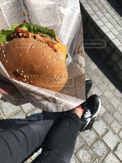 ハンバーガーの写真・画像素材[747713]