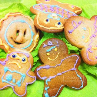 楽しいホームメイドクッキーの写真・画像素材[748494]
