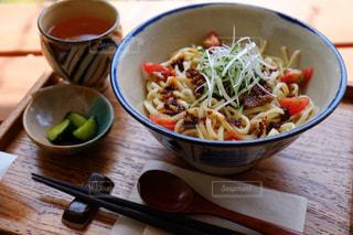 沖縄ジャージャー麺の写真・画像素材[749065]