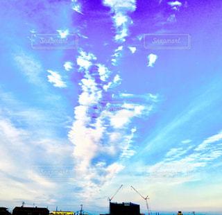 雲のダンスの写真・画像素材[752937]