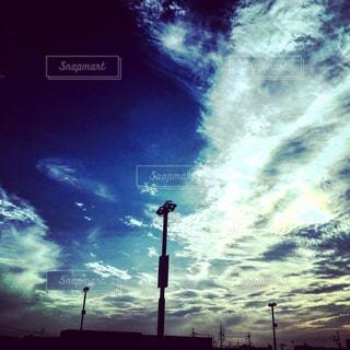 夕空の写真・画像素材[758469]