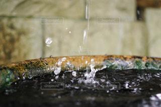 水飛沫の写真・画像素材[805649]