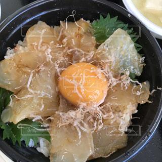 鯛の卵かけご飯の写真・画像素材[750329]