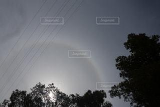 空に虹の写真・画像素材[750366]