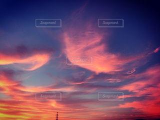 2018.7.2 AM4:30の朝焼けの写真・画像素材[1280371]
