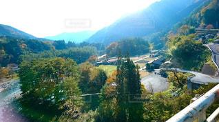 橋から見渡した景色の写真・画像素材[890859]