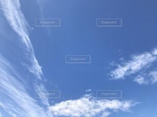 秋の空の写真・画像素材[786906]