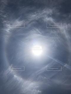 日暈の写真・画像素材[1197440]