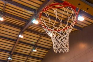 バスケットボールのゴールの写真・画像素材[2826287]