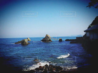 夫婦岩の写真・画像素材[752466]
