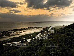 沖縄 サンセットの写真・画像素材[753342]