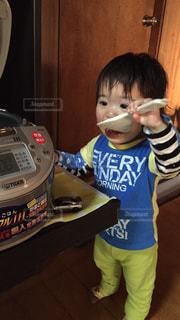食いしん坊の写真・画像素材[753298]