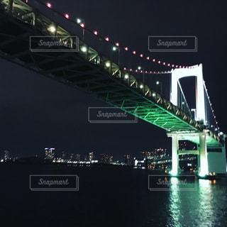 橋のライトアップ - No.761095