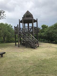公園のベンチ - No.755605