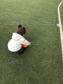 将来はサッカー選手?の写真・画像素材[753957]