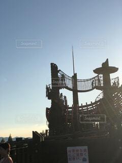 船の遊具の写真・画像素材[877574]