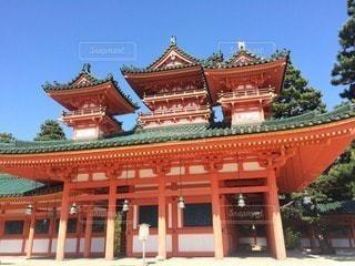 神社の写真・画像素材[22424]